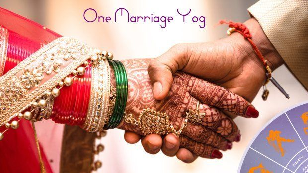 Marriage Yog In Astrology - First Marriage Yoga
