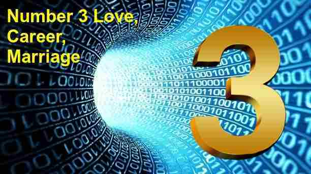 Numerology Number 3 Love  Marriage  Career  Personality