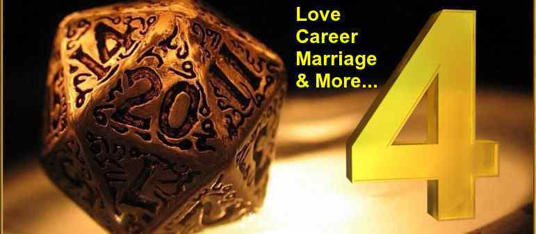 Numerology Number 4 Love Life, Marriage, Career, Personality