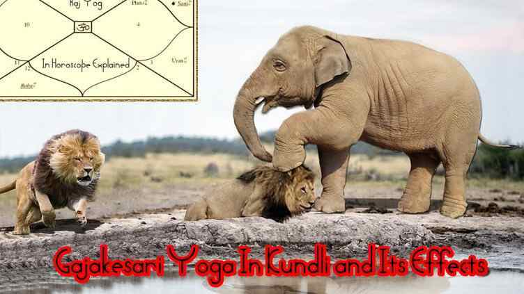 Gajakesari Yoga In Kundli and Its Effects, Benefits In different houses