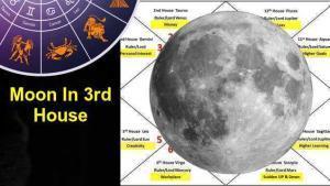 Moon In 3rd House Love, Career, Marriage, Finance In Vedic Astrology