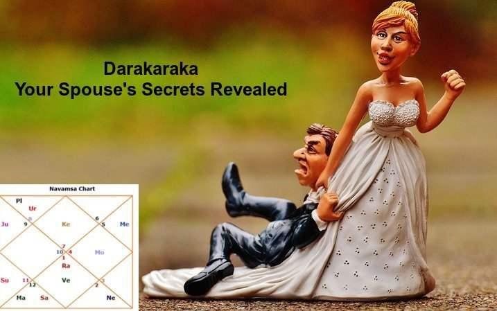 Darakaraka In Vedic Astrology - Your Spouse's Secrets - Detail Analysis