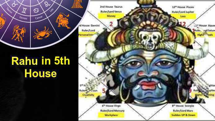Rahu in 5th house Love, Career, Finance, Education, Family Children