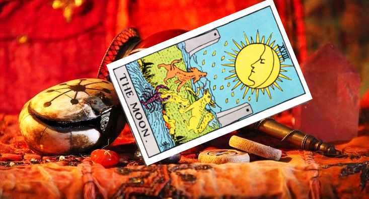 The Moon Card Tarot Reading Love, Marriage, Career, Money, Yes or No