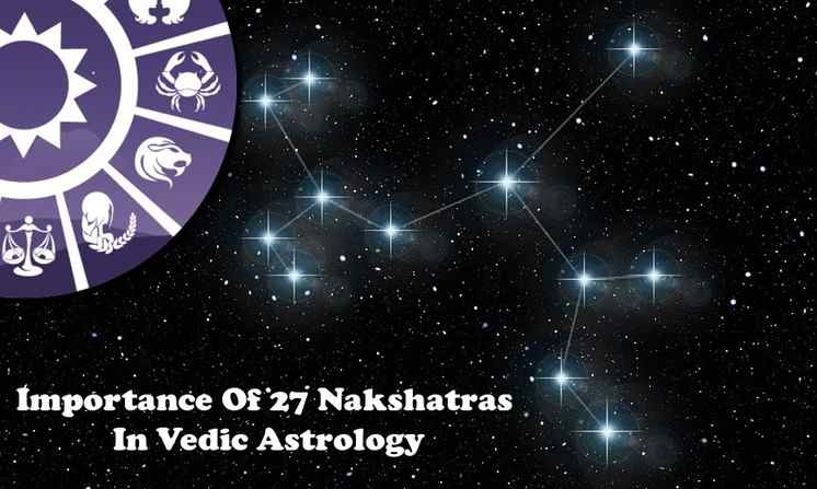 Role/ Importance Of 27 Nakshatras Types Characteristics In Astrology