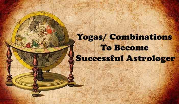 Yogas- Combinations To Become Successful Good Astrologer In Horoscope, kundli